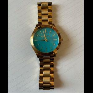 Michael Kors watch. MK3492 slim ladies watch.